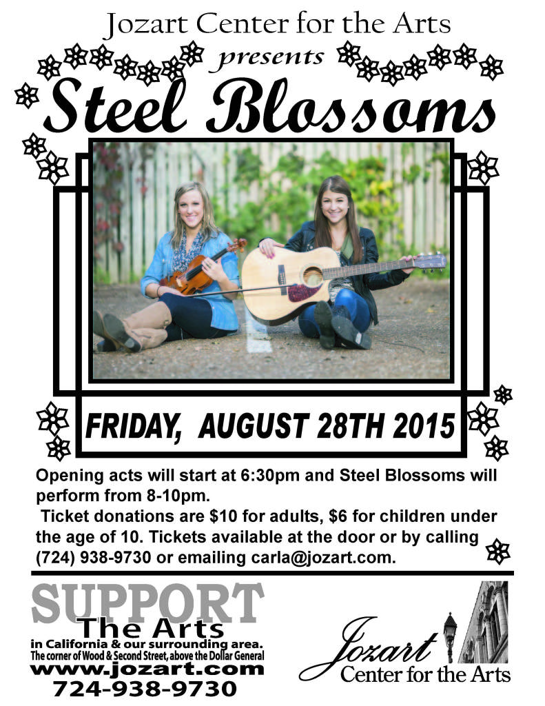 steel blossoms poster 2